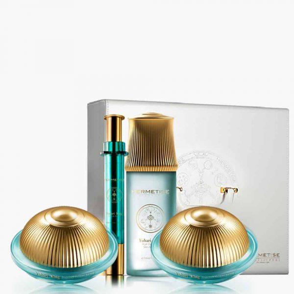 Yubari King Gold Full Set with Case Hermetise