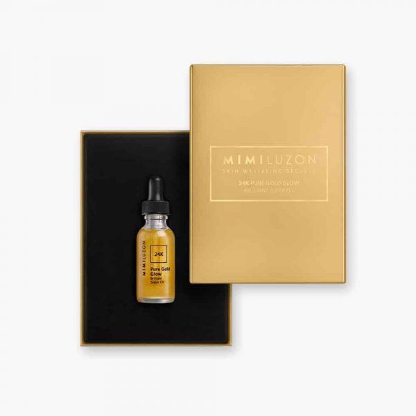24K Pure Gold Glow-Brilliant Super Oil Mimi Luzon