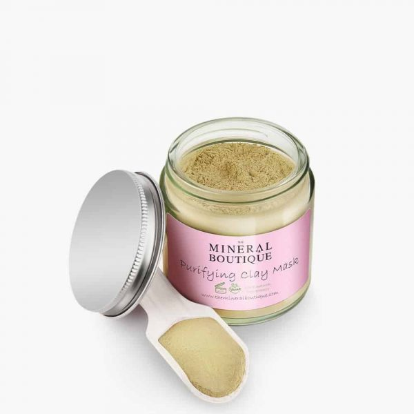 Purifying Clay Mask the mineral boutique 1