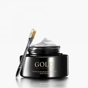 Truffles infusion brightening neck cream gold elements