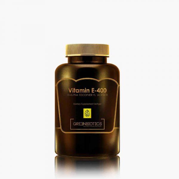 Vitamin E 400 D-Alpha Tocopheryl Acetate Greenbiotics