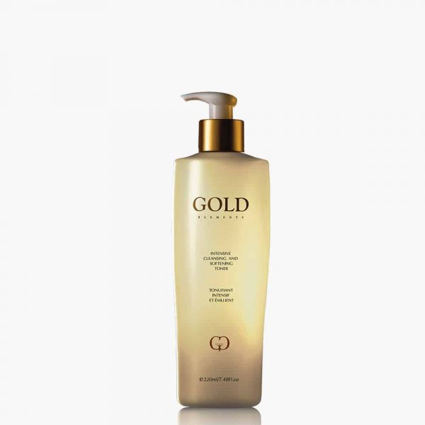 Intensive Cleansing And Softening Toner gold elements