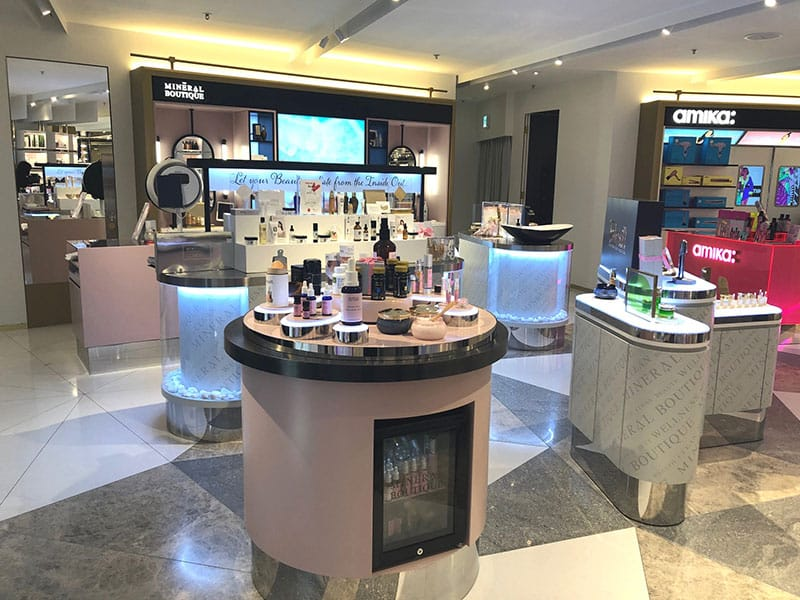 The Mineral Boutique store in 21/F, Golden Bloom Centre, 25-27 Jardine's Bazaar, Causeway Bay, Hong Kong