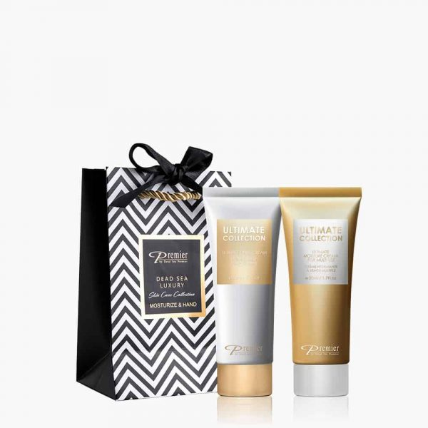 Premier's Dead Sea Luxury - Moisturize & Hand Cream duo