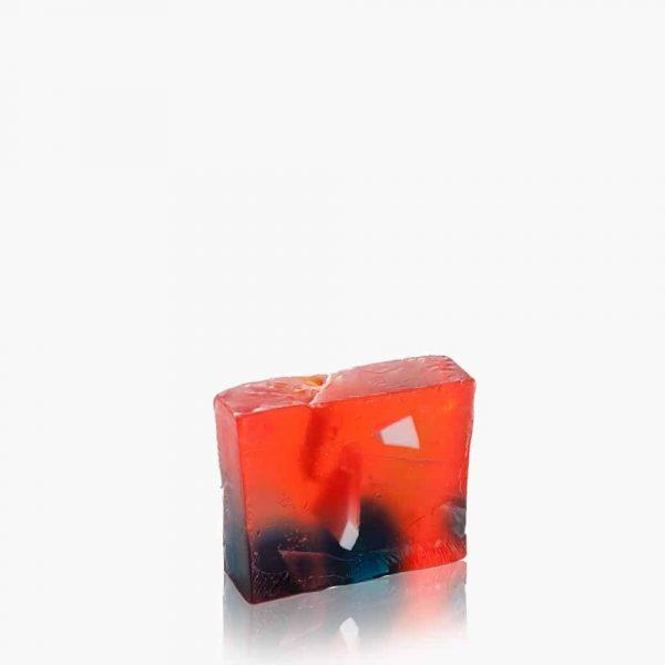 Original Hand Made Dead Sea Salt Soap - Red Passion