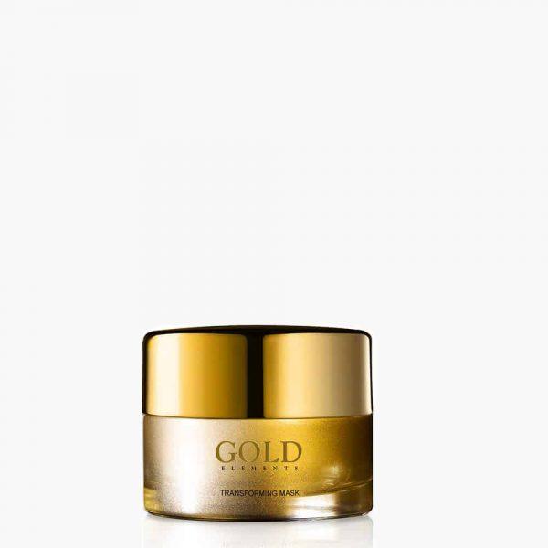 Gold Elements Transforming Mask