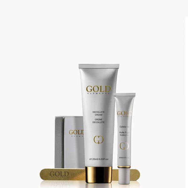 Gold Elements Nail Kit - Precious