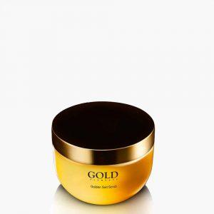 Golden Salt Scrub